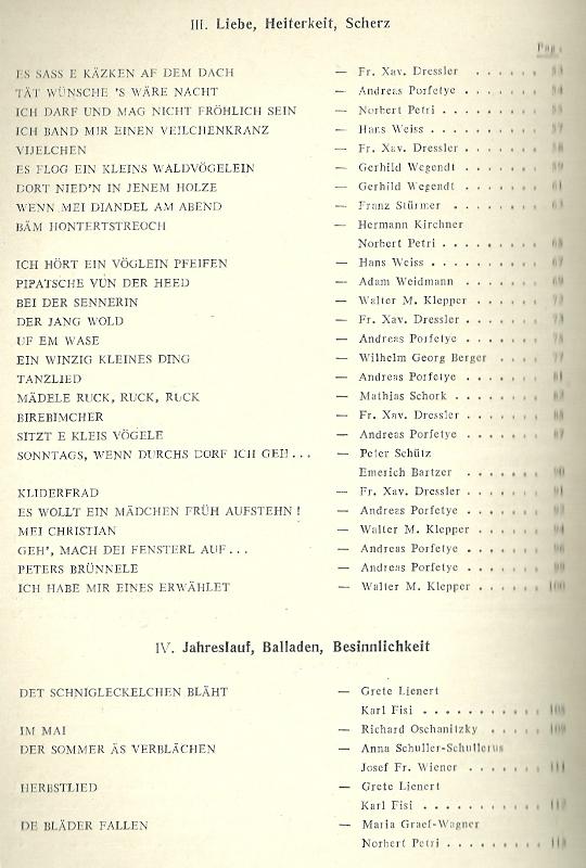 deutsches liedgut  choir book